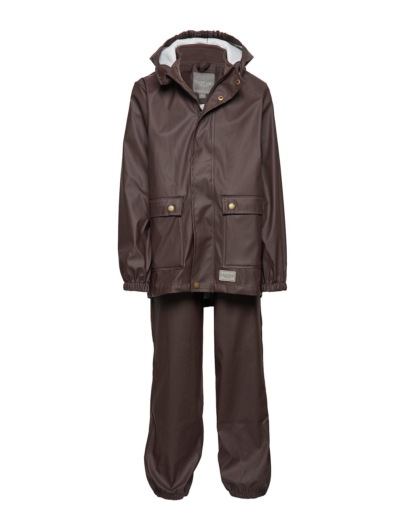 MarMar Cph Rainwear Set Kids Boy - ESPRESSO