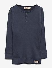 MarMar Cph - Tee LS - long-sleeved t-shirts - blue - 0