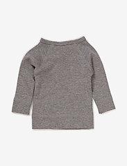 MarMar Cph - Tut Wrap LS - vienkāršs t-krekls ar garām piedurknēm - grey melange - 1