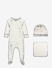 MarMar Cph - New Born Gift Box - suit, hat and blanket - langärmelig - gentle white - 3