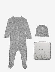 MarMar Cph - New Born Gift Box - suit, hat and blanket - langärmelig - pale blue - 3
