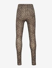 MarMar Cph - Leo leggings - leggings - brown leo - 1