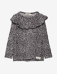 MarMar Cph - Leo Tessie - langærmede t-shirts - grey leo - 0