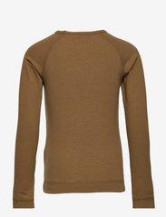 MarMar Cph - Base Tee LS - t-shirts - dark mustard - 1