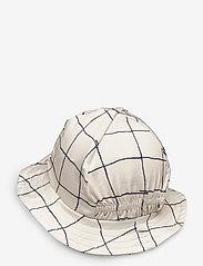 MarMar Cph - Alba Splash - kapelusz przeciwsłoneczny - pen check - 1
