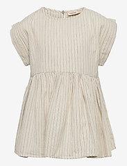 MarMar Cph - Tiora - kleider - white sage stripes - 0