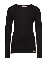 Plain Tee LS - BLACK