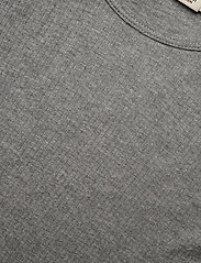 MarMar Cph - Plain Tee LS - long-sleeved t-shirts - grey melange - 1