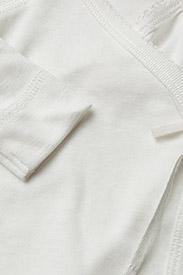 MarMar Cph - Tut Wrap LS - langærmede t-shirts - gentle white - 2