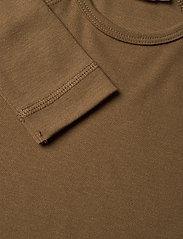 MarMar Cph - Base Tee LS - t-shirts - dark mustard - 2