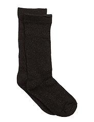 Knee Socks Lurex - BLACK LUREX