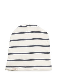 Beanie - GENTLE WHITE/BLUE