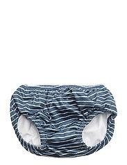 Swan - STRIPE OCEANIC BLUE