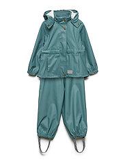 Rainwear Set Kids Girl - SPRUCE GREEN