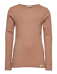 Plain Tee LS - ROSE BROWN