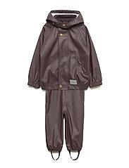 Rainwear Set Baby - ESPRESSO