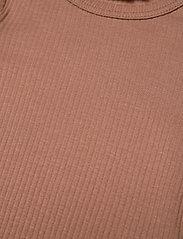 MarMar Cph - Plain Body SS - kurzärmelige - rose brown - 2
