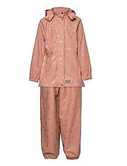 Rainwear Set Oceana - ROSE BROWN DOT