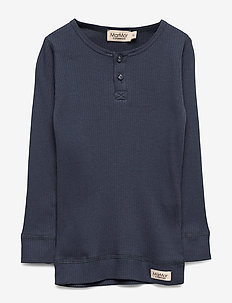 Tee LS - manches longues - blue