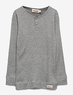 Tee LS - manches longues - grey melange