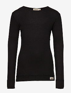 Plain Tee LS - manches longues - black