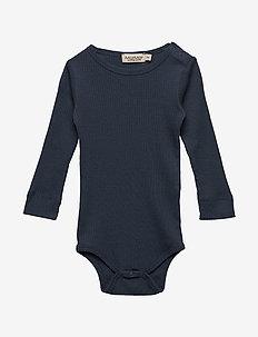 Plain Body LS - długie rękawy - blue
