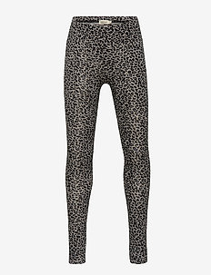Leo leggings - leggings - grey leo