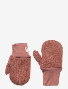 Alvilda - hatte og handsker - rose blush