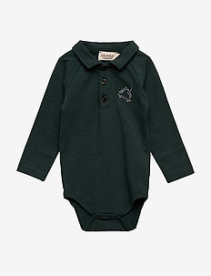 Bo Polo LS - DARK LEAF MELANGE