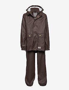 Rainwear Set Kids Boy - ESPRESSO