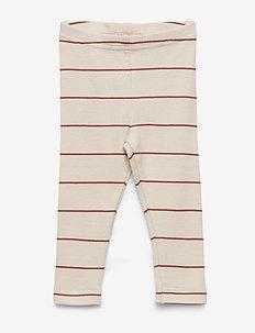 Leg - leginsy - chutney stripe