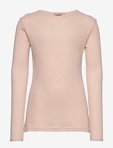 Tamra - long-sleeved t-shirts - peach cream