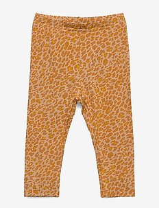 Leo Leg - leggings - pumpkin pie leo