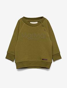 Thadeus B - sweaters - dark olive