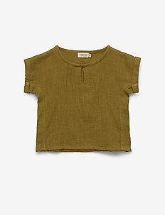 Tomba - blouses & tunics - dark olive