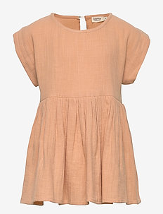 Tiora - dresses - beige blush