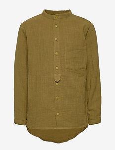 Theodor - shirts - dark olive