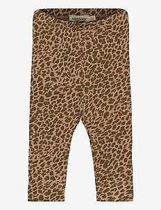 Leo Leg - leggings - leather leo