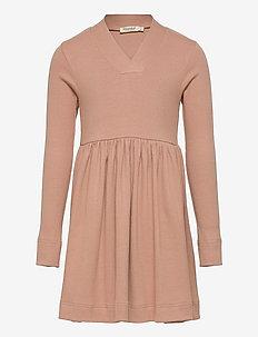 Dress - kleider - rose brown