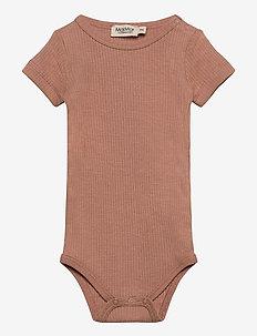 Plain Body SS - kurzärmelige - rose brown