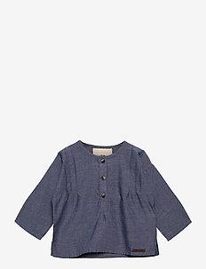 Tarek - shirts - denim blue