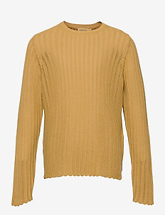 Taia - knitwear - hay