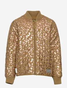 Orry - thermo jacket - dark mustard leo