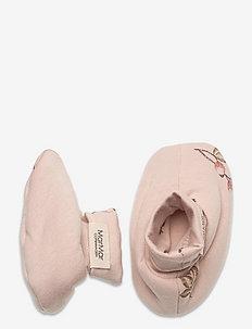 Booties - slippers - rosehips