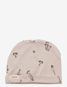 Aiko - baby hats - wild mushrooms