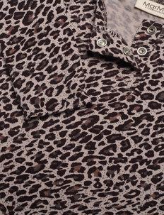 Leo Suit - langärmelig - airy purple leo