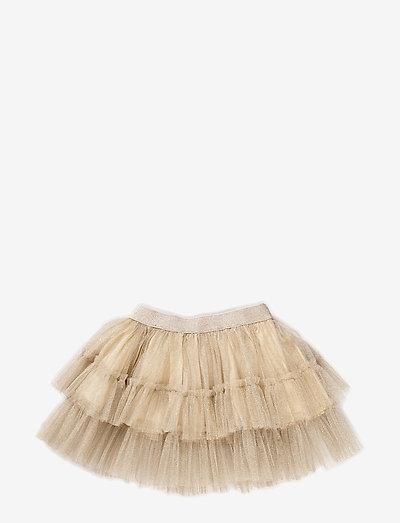 Dancer Tutu Skirt - röcke - gold