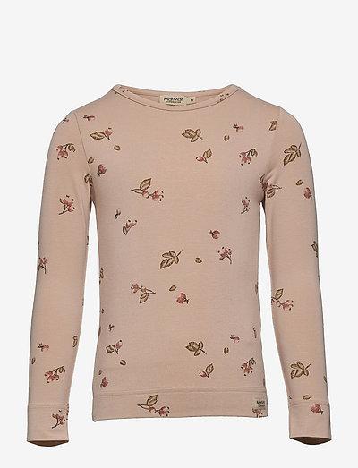 Teller - langærmede t-shirts - rosehips