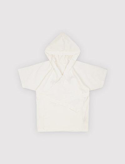 Space Bathrobe - night & underwear - white