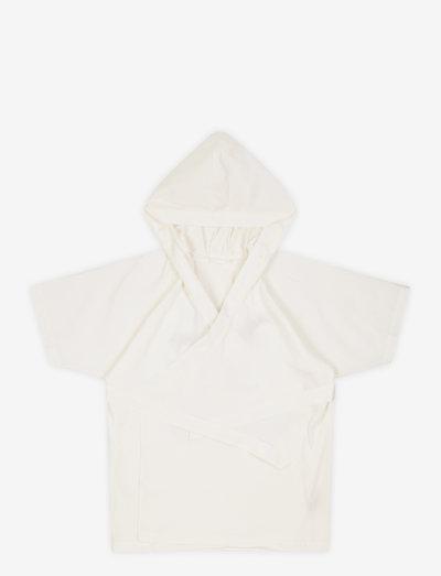 Nature Bathrobe - night & underwear - white